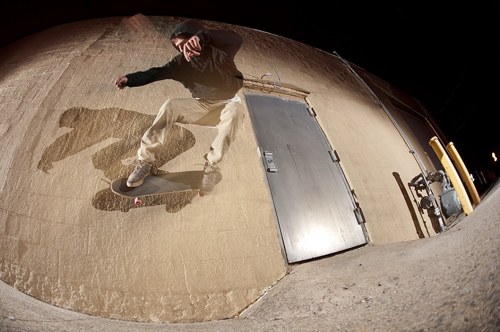 Adrian Lignos - Bump to wallride Photo: Tyler Kufs