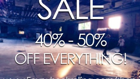 SALE 40 – 50% OFF EVERYTHING