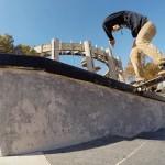 Skateboarding @ Maloof Skatepark