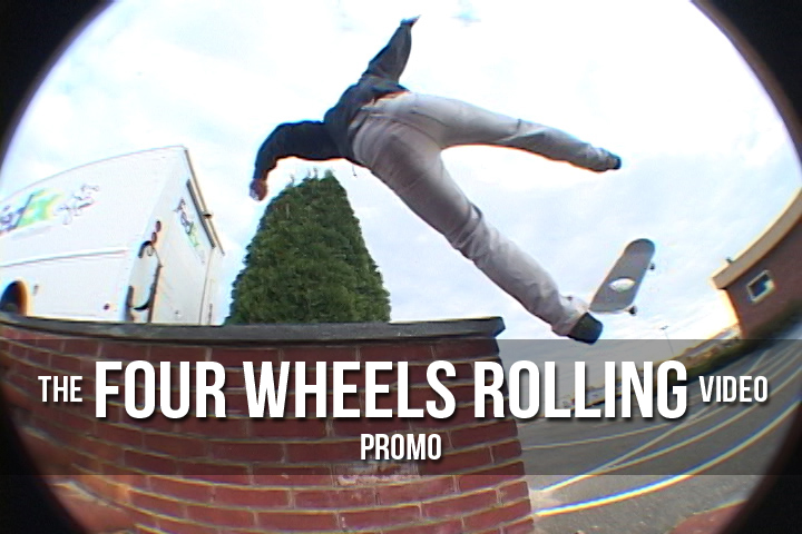 The Four Wheels Rolling Video promo