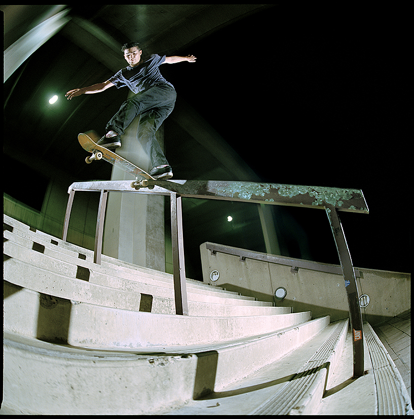 Anthony Savillo - bs tailslide nassau