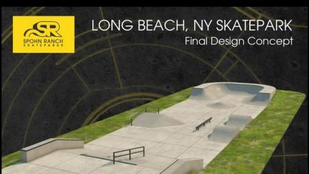 New Skatepark in Long Beach, New York