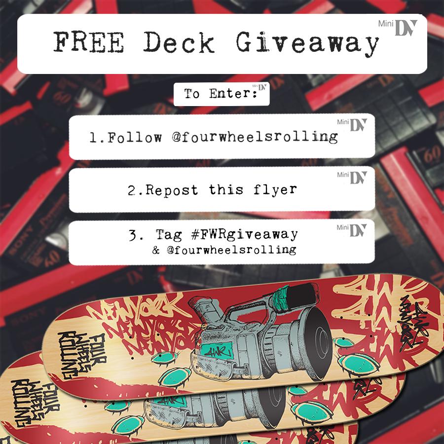 deck giveaway