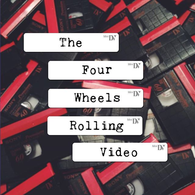 The Four Wheels Rolling Video DVD