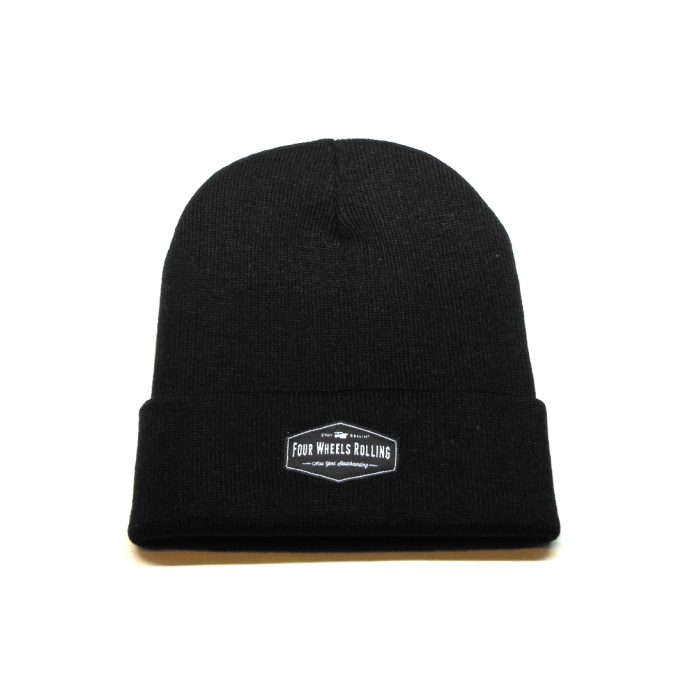 Stay Rollin' Beanie – Black