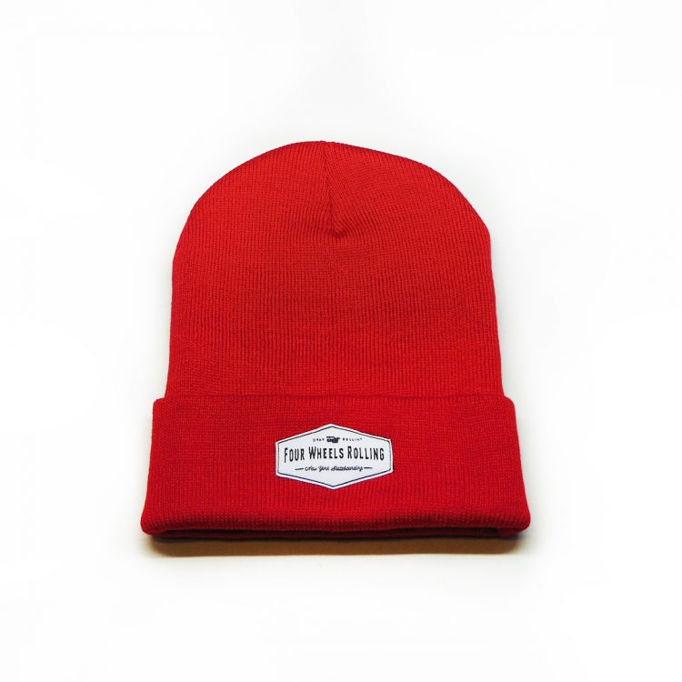 Stay Rollin' Beanie – Red